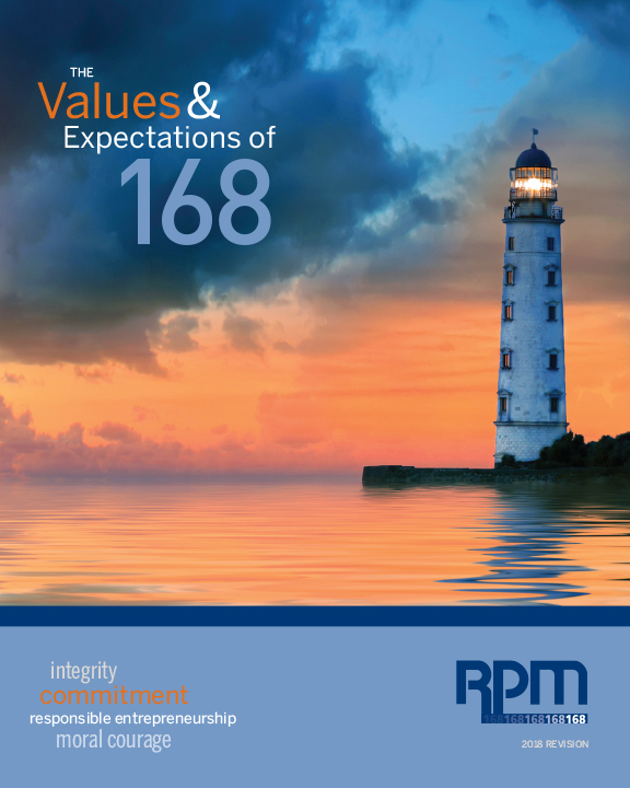 Values And Expectations Code Of Conduct Cover